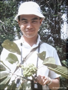 Francis Ng during field work in Malaysia around 1966.