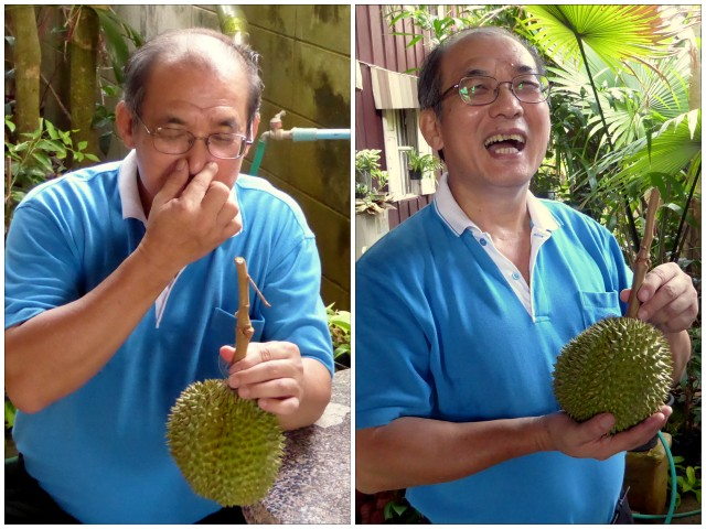 Dr. Songpol has successfully tackled the problem that many people find the smell of the durian repulsive; he hybridized an almost odorless variety, the 'Chanthaburi 1'.