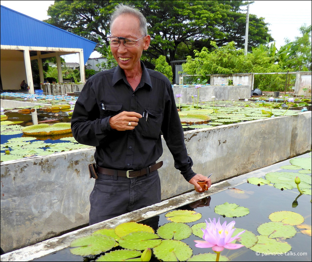 """""""I just love to see all flora and fauna in their habitat, especially Victoria in South America and water lilies in South Africa."""""""